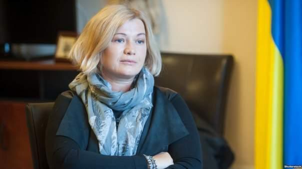 Геращенко не стала разглашать детали переговоров по Сущенко и Сенцову