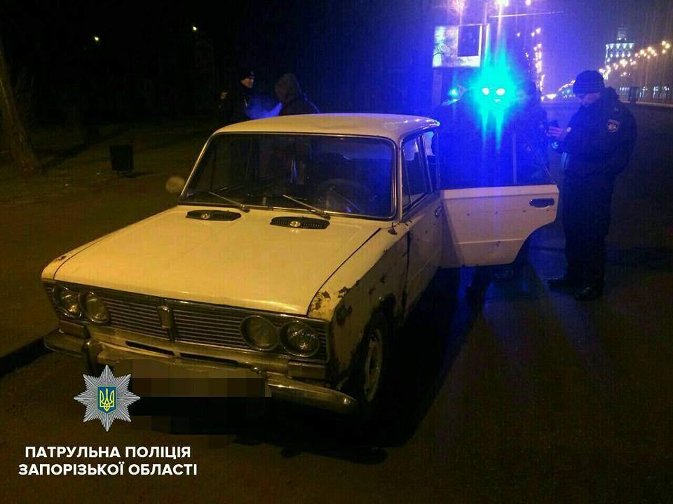 В Запорожье посреди ночи произошло дерзкое ограбление (фото)