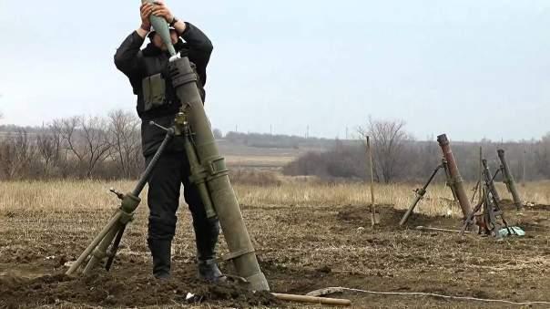 Против бойцов АТО применили запрещенные минометы