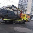 В центре Киева очередной