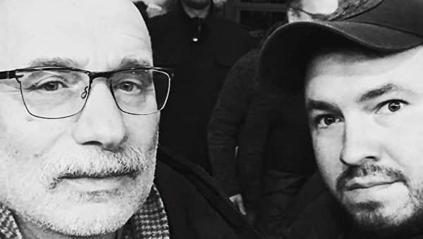 Скандальный радикал Лозовой  встречался с известным российским писателем