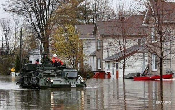В Канаде около пяти тысяч человек должны покинуть свои дома из-за повышения уровня воды