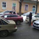 Во Львове  пьяный водитель автомобиля