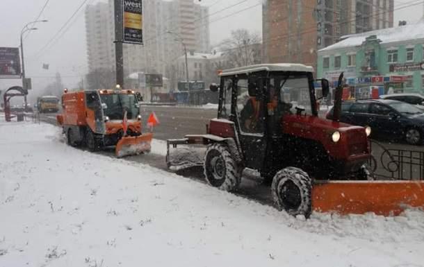 В связи с ухудшением погодных условий киевлян призывают воздержаться от поездок на личном транспорте