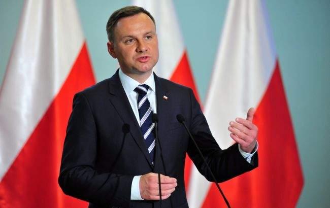 Президент Польши обвинил украинских националистов в