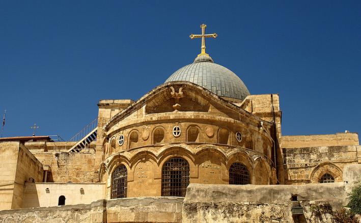 В Иерусалиме на неопределенный срок закрыли Храм Гроба Господня