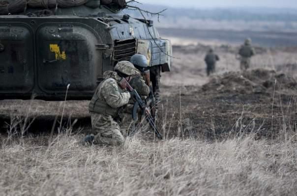 На Донецком направлении в зоне АТО было