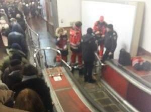 На станции киевского метрополитена умер мужчина