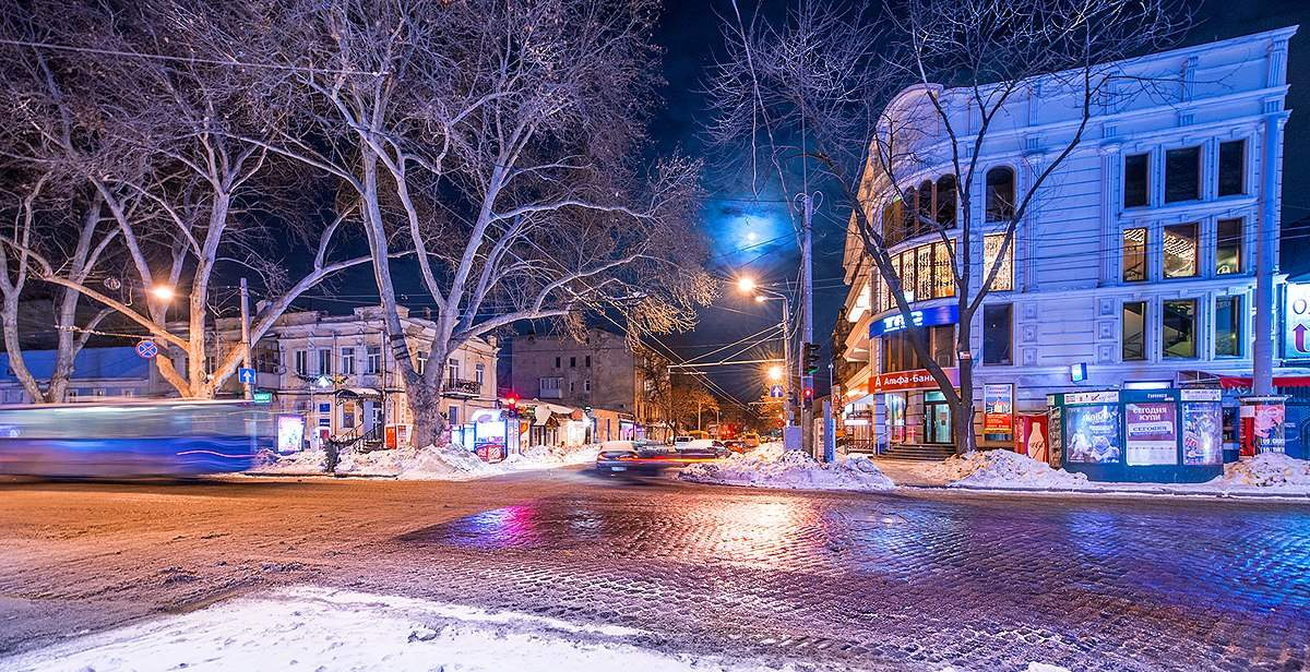 Невероятные красоты зимней Одессы завораживают (Фото)