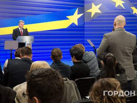 Гордон пожаловался Президенту Порошенко на угрозы Тягнибока и его группировки радикалов