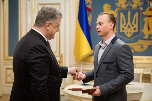 Президент вручил олимпийскому чемпиону Абраменко орден