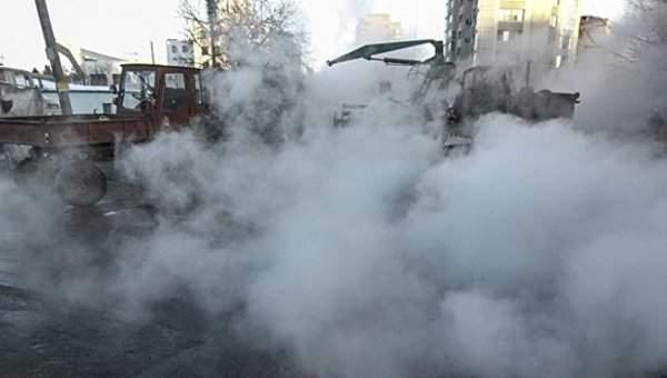 В Харькове без отопления остались 84 жилых дома и городская больница