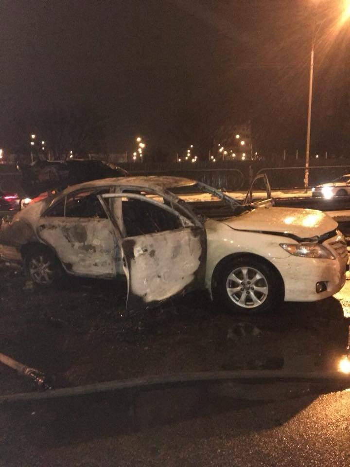 В результате взрыва в столице ранен сотрудник СБУ