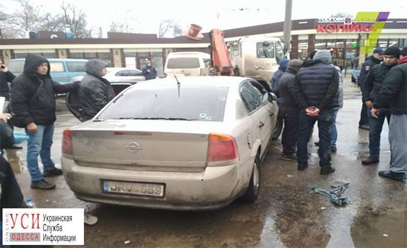В центре Одессы раздались выстрелы (фото)