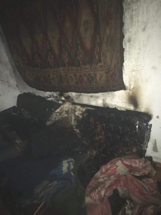 В Днепропетровской области после пожара обнаружили бездыханное тело мужчины