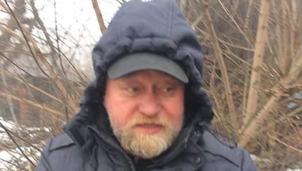 Владимир Рубан задержан на линии разграничения в Донбассе с большим арсеналом оружия
