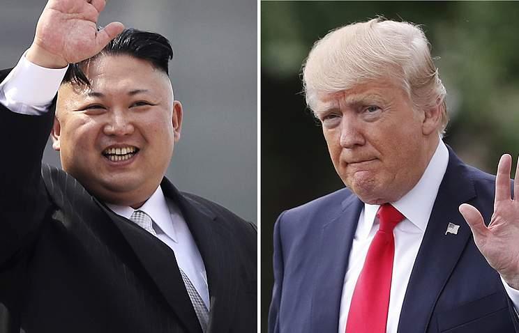 Президент КНДР пригласил Трампа на переговоры