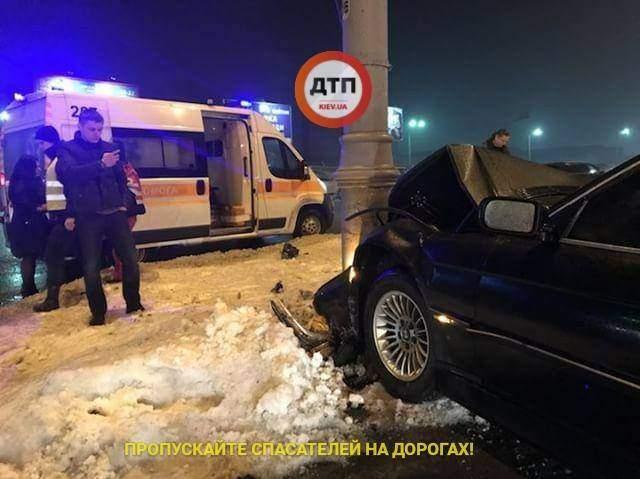 В Киеве автомобиль