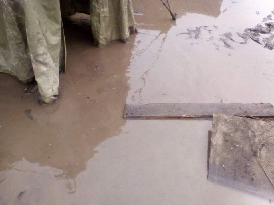 Сотрудник Нацполиции рассказал об ужасающих условиях проживания в командировке (фото)
