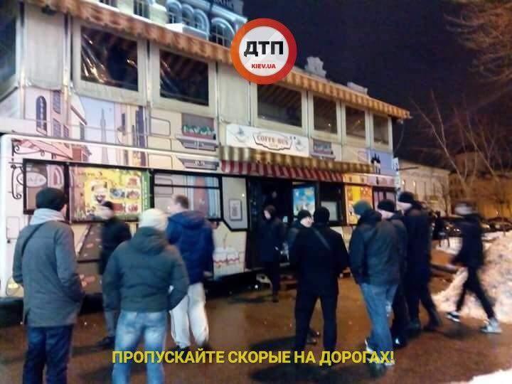 В столице произошел ночной погром МАФов (Фото)