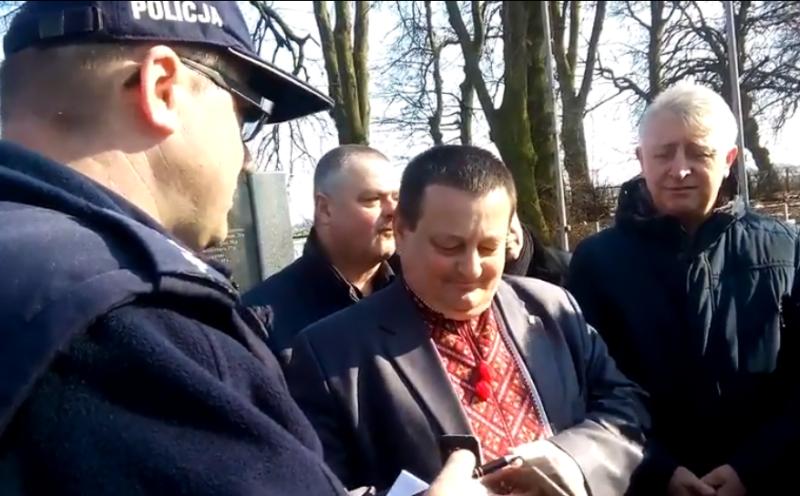 Волынского депутата - свободовца в Польше, чуть не задержали из-за