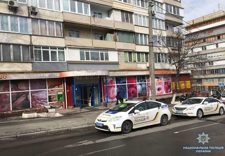 В столичном магазине произошла стрельба (Фото)