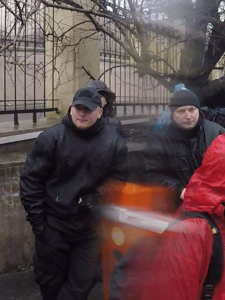 В Одессе акцию