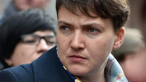 Савченко выступила на брифинге перед допросом в СБУ (Видео)