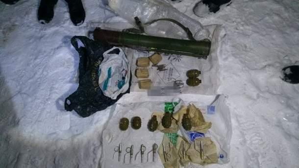 В Сумской области сотрудники СБУ сумели остановить поступление оружия   из зоны АТО