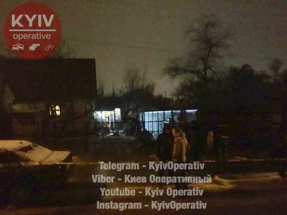 Под Киевом убили супружескую пару пенсионеров (Видео)