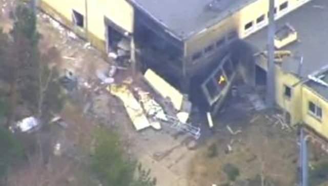 В Германии в результате взрыва на заводе по утилизации боеприпасов пострадали люди