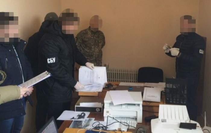 На Днепропетровщине задержан начальник отделения военного комиссариата