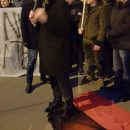 В Польше жгли портреты Шухевича и Бандеры, и топтали красно-черный флаг