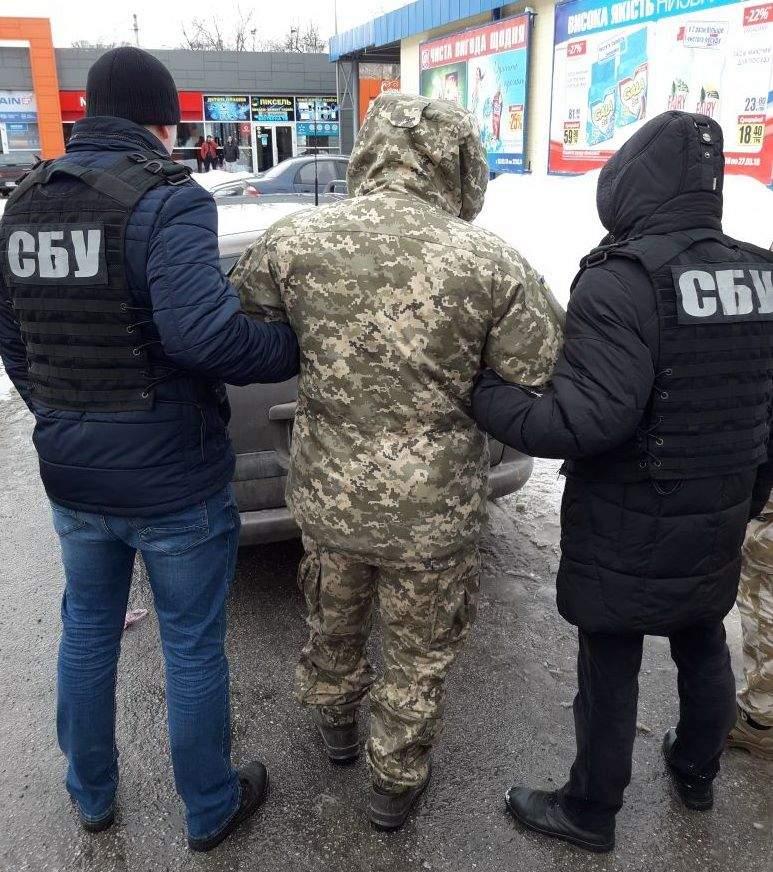 В Кропивницком  СБУ разоблачила контрактника на хищении средств связи