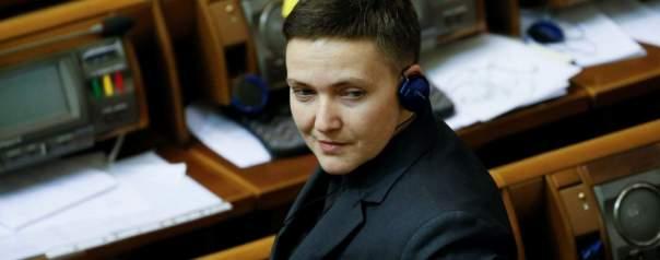 Депутаты лишили Савченко депутатской неприкосновенности