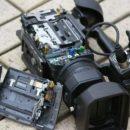 В Одессе неизвестные повредили видеокамеру журналиста, который вел репортаж
