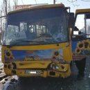 В Луцке произошло ДТП с участие двух пассажирских маршруток, в результате  11 человек пострадали