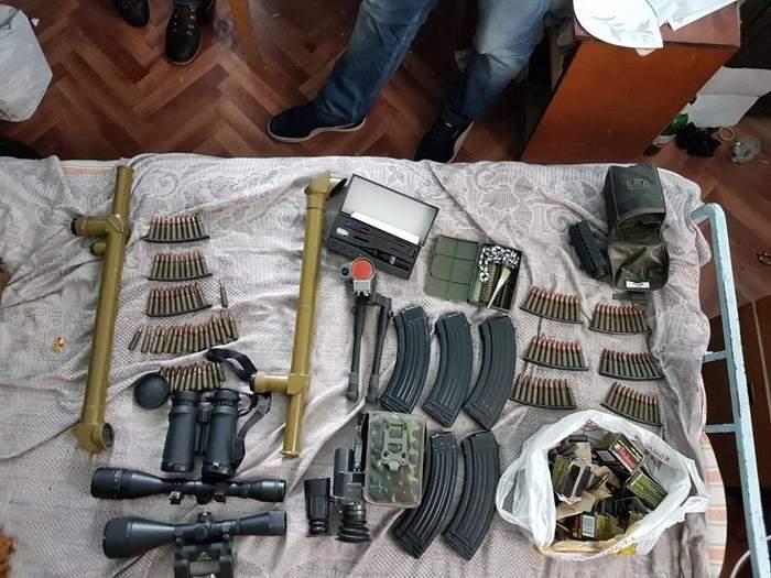В трех областях Украины пресечен незаконный оборот оружия (Фото)