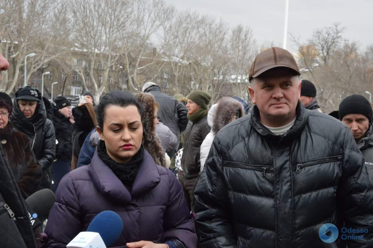 В Одессе предприниматели протестовали против повышения арендной платы на