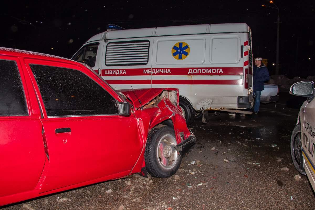 В Днепре жертвами лобового ДТП стали несколько человек (фото)