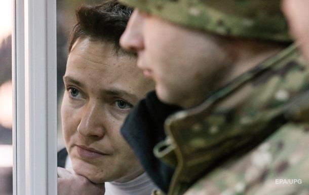 Министр юстиции заявил, что  Савченко будет находиться под усиленным наблюдением врачей, если начнет голодовку