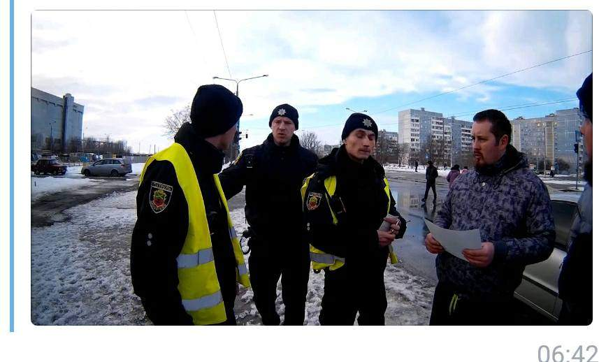 В Запорожье видеоблогер, который  снимал видео