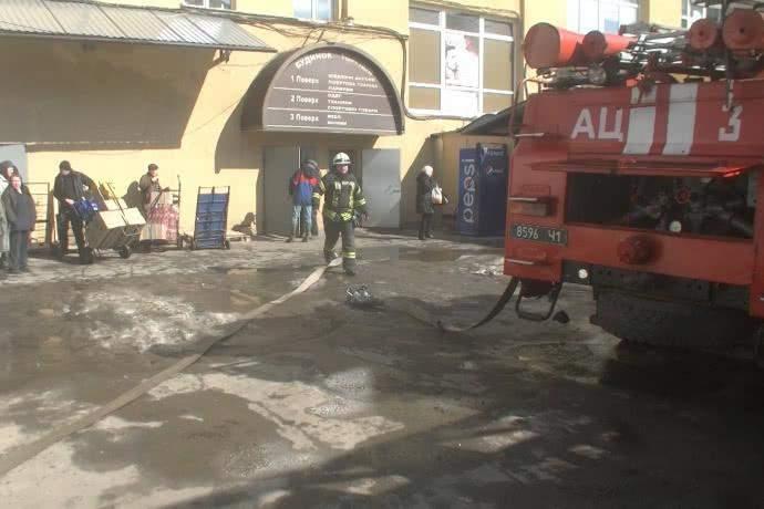 В одном из ТЦ Харькова произошел пожар