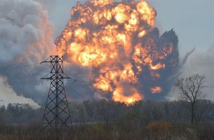 На Донбассе лишь за выходные произошло более 300 взрывов