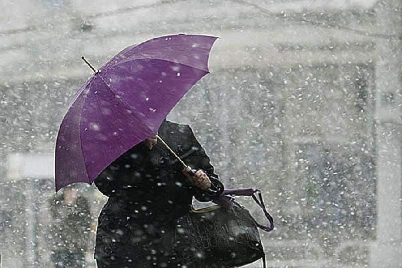 В Украине прогнозируется похолодание с мокрым снегом