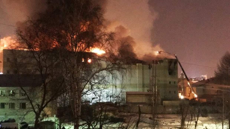 СК России: Причиной пожара в ТЦ