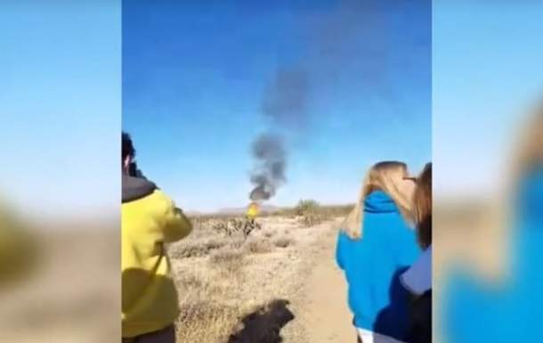 ЧП в пустыне Аризоны: упал и загорелся воздушный шар с туристами (видео)