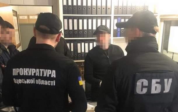 В Одесской области оперативники СБУ задержали двух чиновников-пограничников за взятки