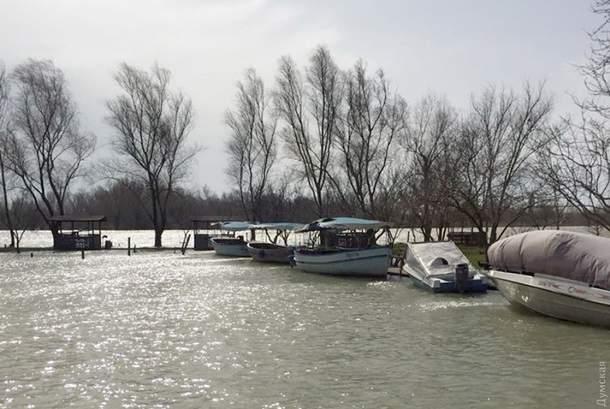 В Одесской области в  Вилково подтоплено 30% улиц