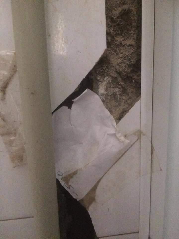 В Одессе трещит по швам многоэтажный дом, власти не реагируют (фото)